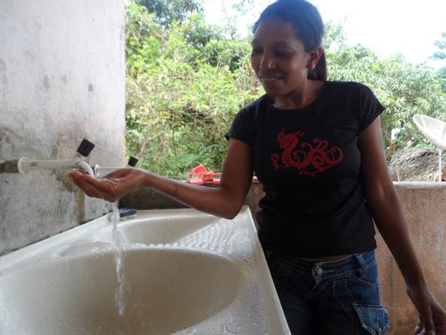 A agricultora familiar, Hilda Firmino Araújo. Fotos: Secom/PMI